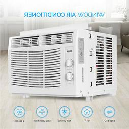 White 5000 BTU Window Mounted Air Conditioner Easy Dial AC W