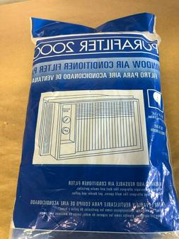 PURAFILTER 2000 - WINDOW AIR CONDITIONER FILTER - NEW - 15X2
