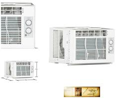 Window Air Conditioner Unit 5,000 BTU Room Cooling Temperatu